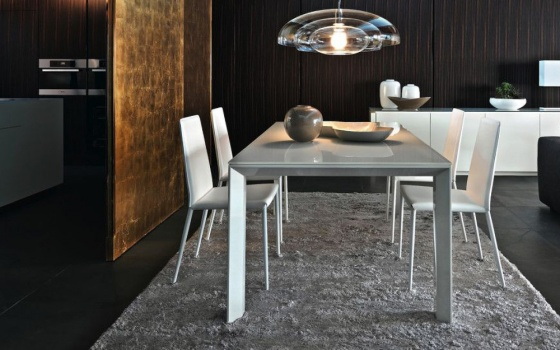 Calligaris Omnia Glass Extendable Table